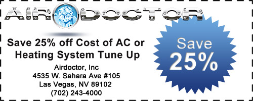 Save 25% Off Price of A/C or Heating Tune Up